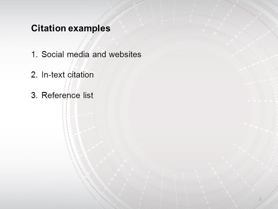 in text citation mla website