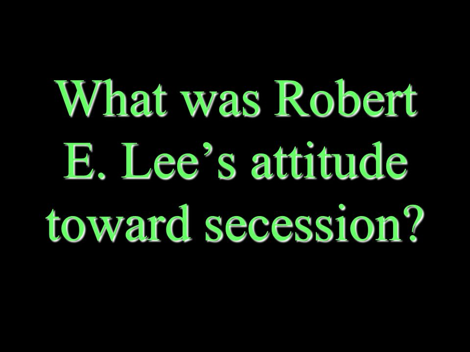 Who was the commander of the Army of Northern Virginia Robert E. LeeRobert E. Lee