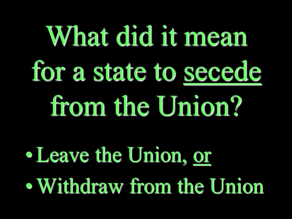 What did several Southern states do, when Lincoln won the 1860 presidential election.
