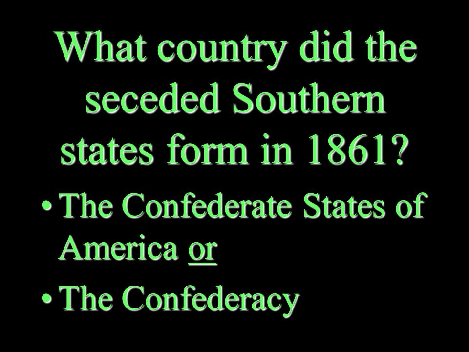 What did it mean for a state to secede from the Union.