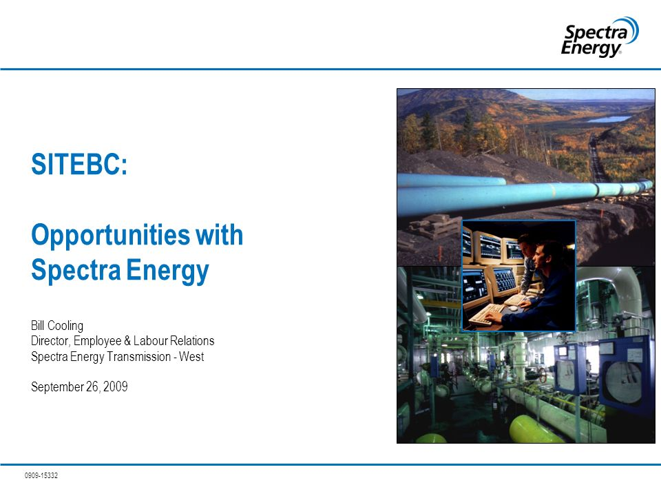 SITEBC: Opportunities with Spectra Energy Bill Cooling Director ...