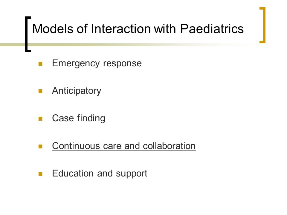 The Long-stay Paediatric Inpatient and Consultation-liaison