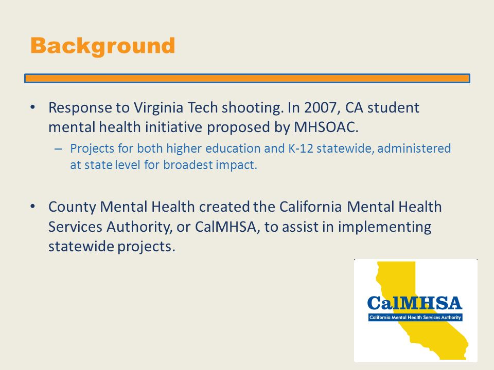 Addressing The Mental Health Needs Of California Community College