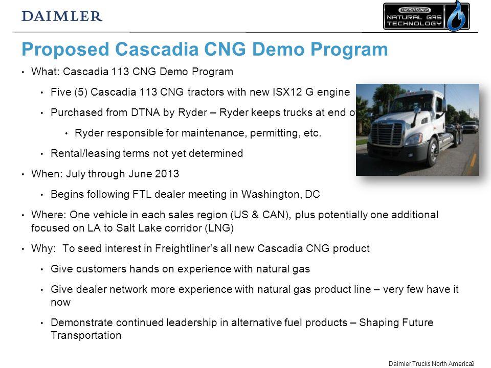 Bob Carrick, Vocational Sales Manager, Natural Gas Greg