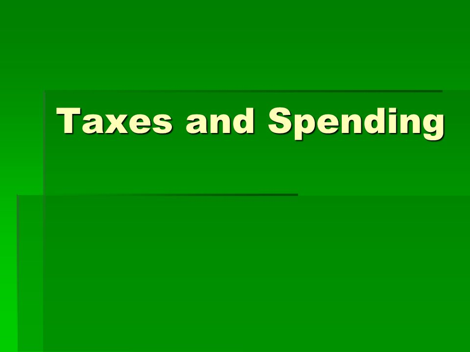 taxes and spending the national budget federal government keeps