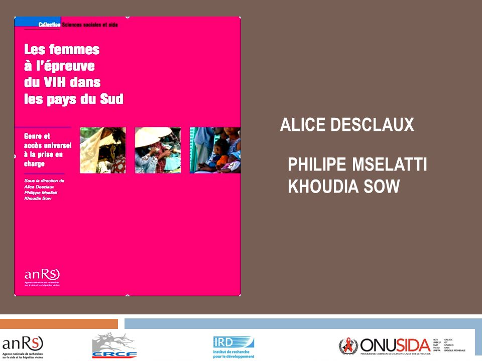 ALICE DESCLAUX PHILIPE MSELATTI KHOUDIA SOW