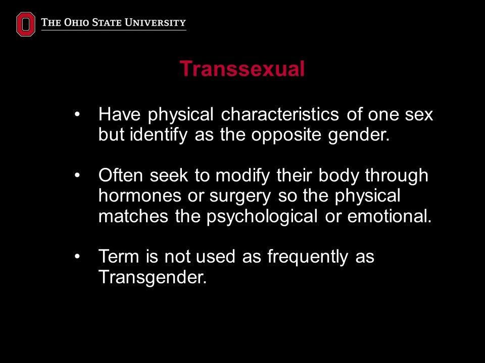 Transgender Issues in Higher Education Jack Miner Director ...