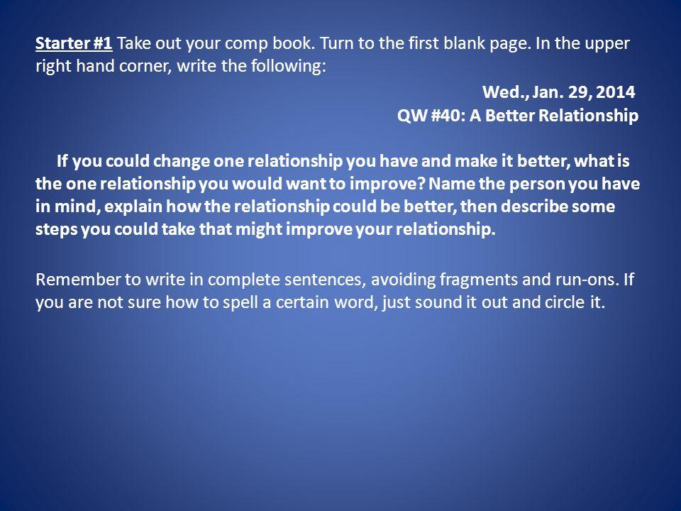 English Wednesday January 29 Handouts Grammar 51 Agreement
