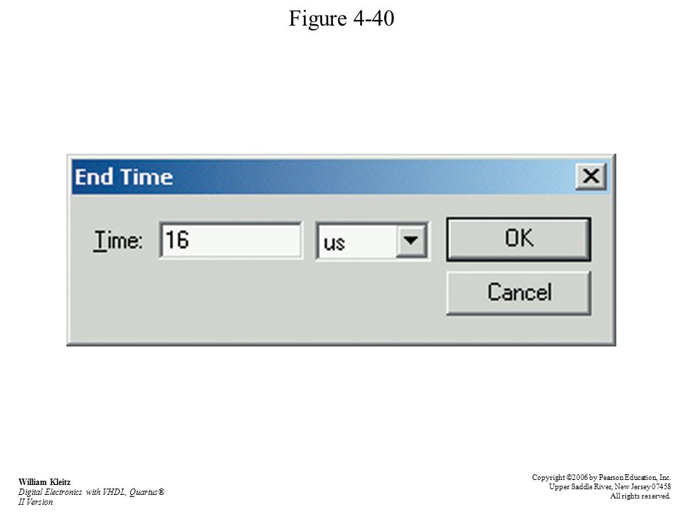Figure 4-40 Copyright ©2006 by Pearson Education, Inc.