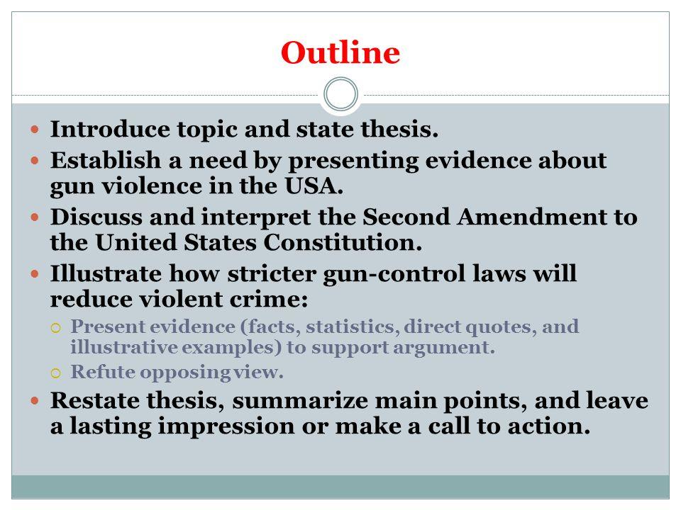 research paper gun control
