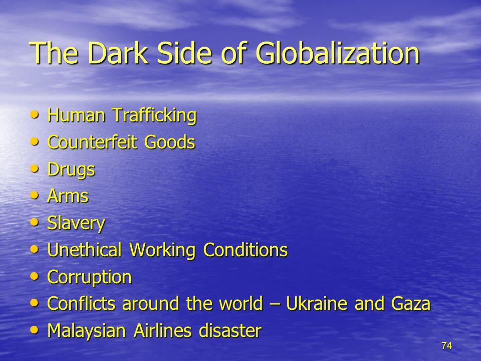 globalization and human trafficking