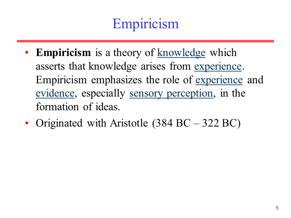 empiricism in research