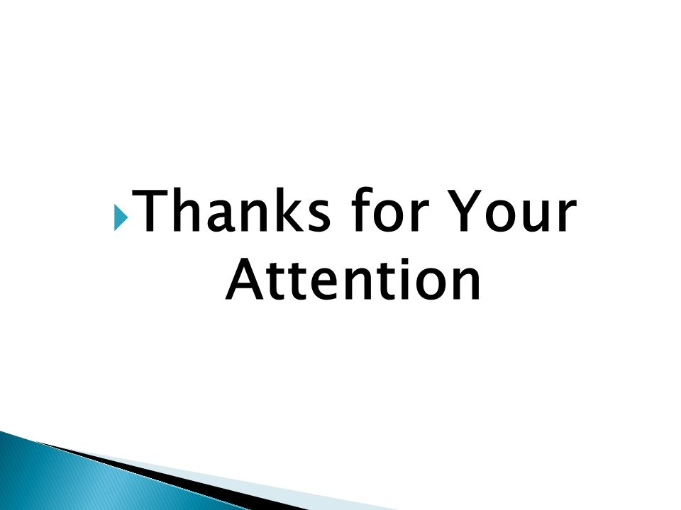  Thanks for Your Attention