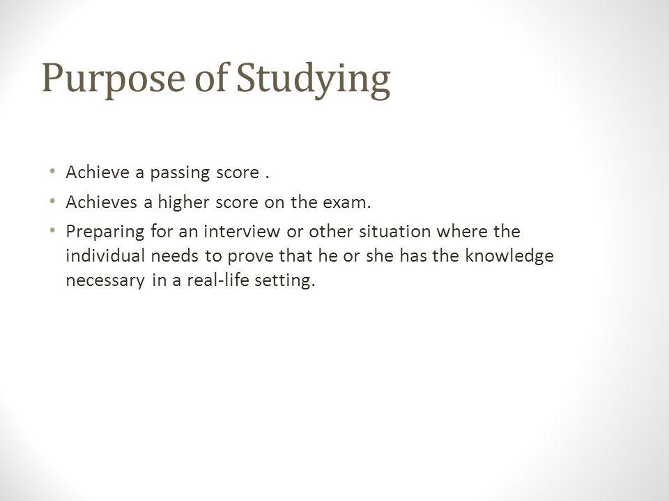 The below study