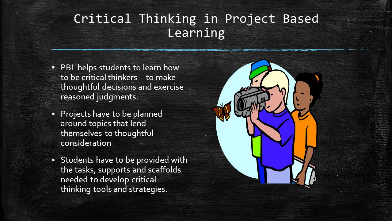 critical thinking projects