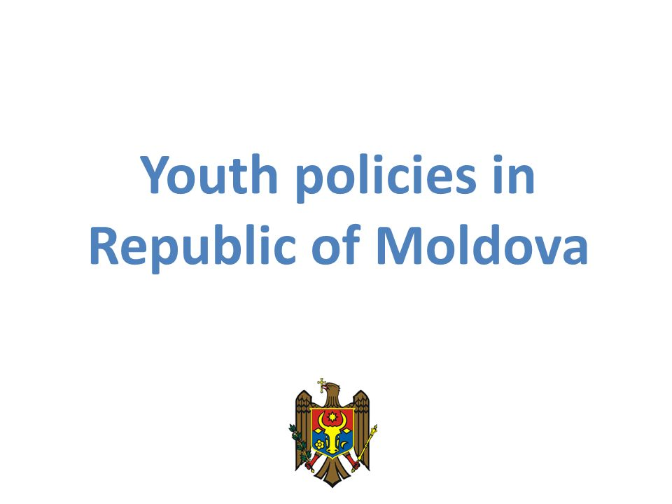 Youth policies in Republic of Moldova