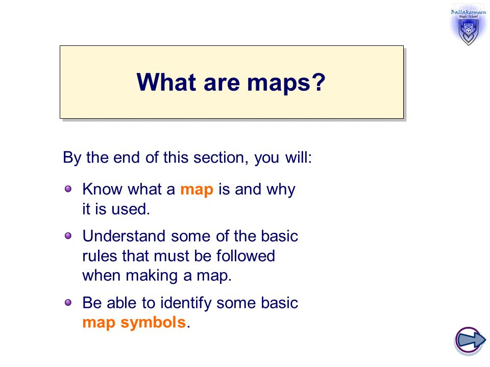 Lets Start With Maps What Do You Know An Introduction To