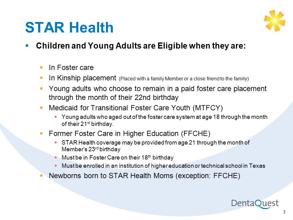 Dentaquest Superior Health Plan Training Star Health Foster Care