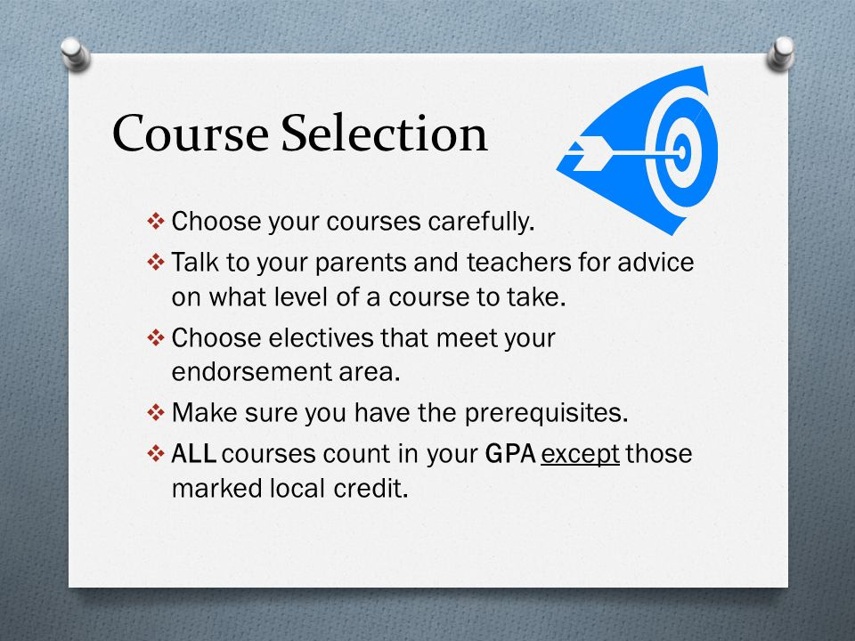 Course Description Handbook The Course Description Handbook for the Freshman class of is available on line for review.