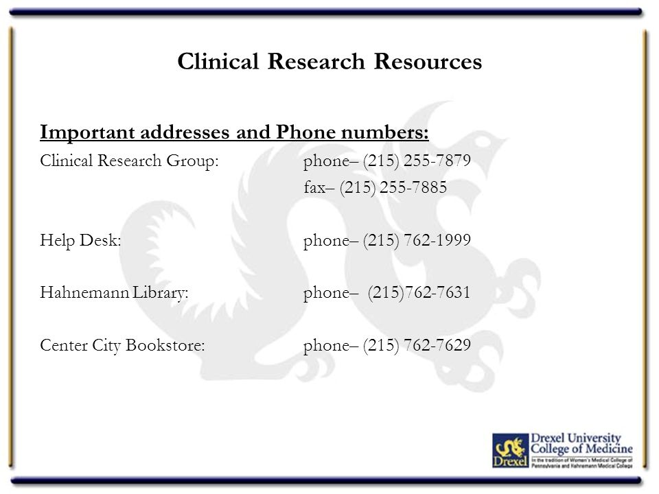 Clinical Research Group New Employee Orientation  - ppt download