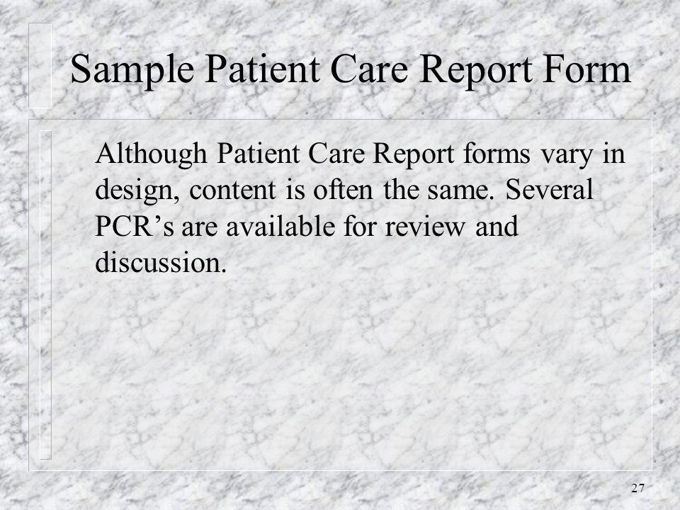 "Patient Care Documentation ""A Proactive Approach"" - Richard"