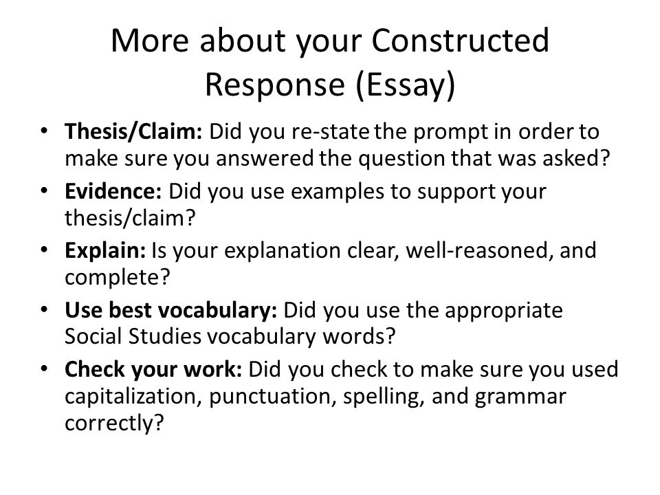 review the racers are at the starting gate a quick note about  more about your constructed response essay thesisclaim did you re