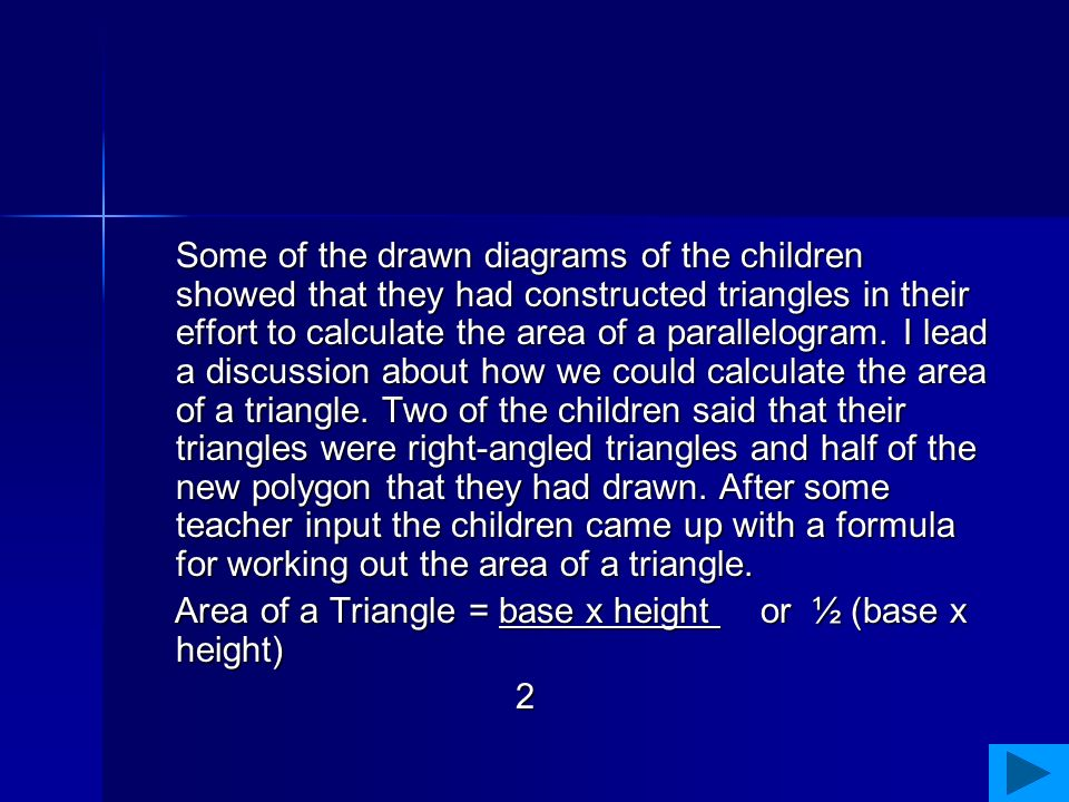 We then took this further and I asked them to look at a regular polygon I had drawn and asked them to calculate its area.