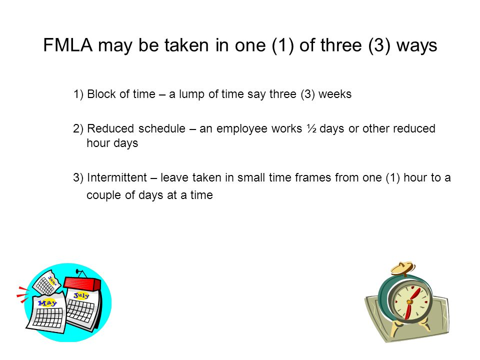 Family Medical Leave Act Fmla What Does It Mean To Me As A