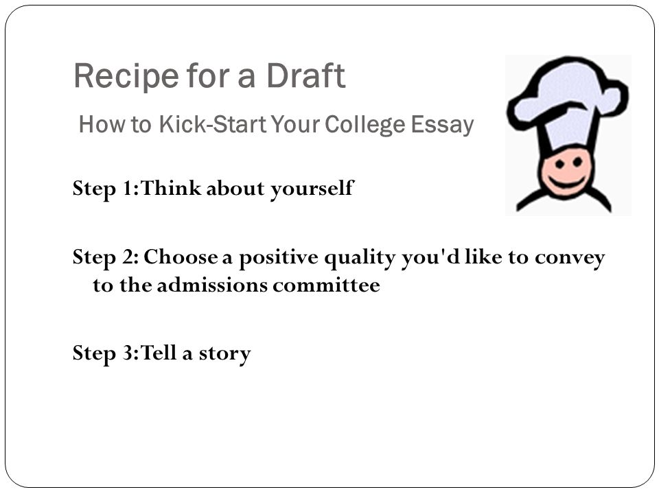 Collegeboardcom The College Essay Choosing A College Essay Topic   Recipe