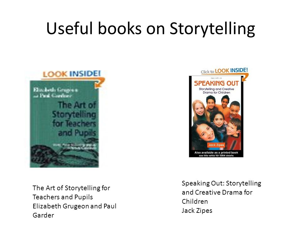 Storytelling and Creative Drama for Children Speaking Out