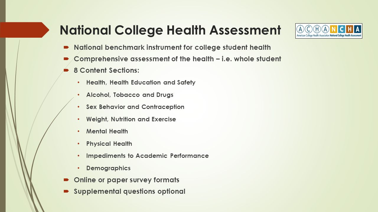 California Community College Students Health How To Understand And