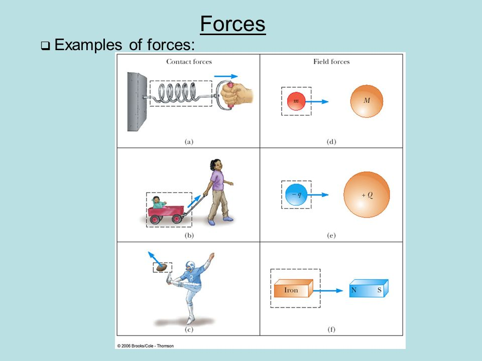 chapter 4 the laws of motion forces there seem to be two kinds