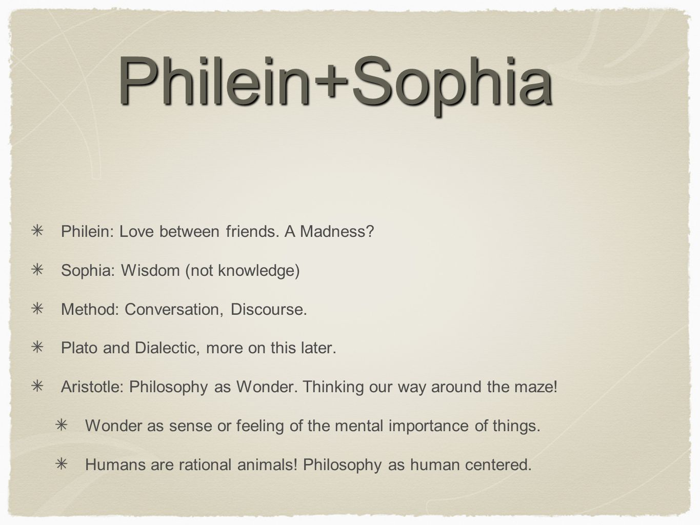 Philein+Sophia Philein: Love between friends. A Madness.