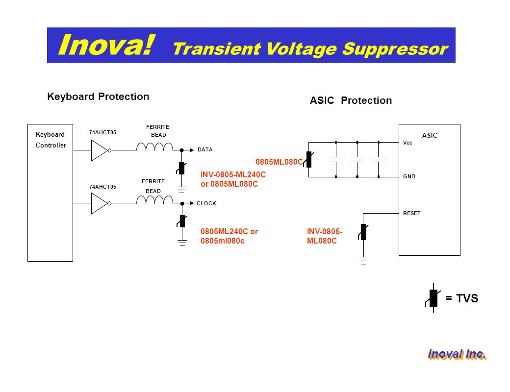 Application list and suggestion information Transient Voltage ...