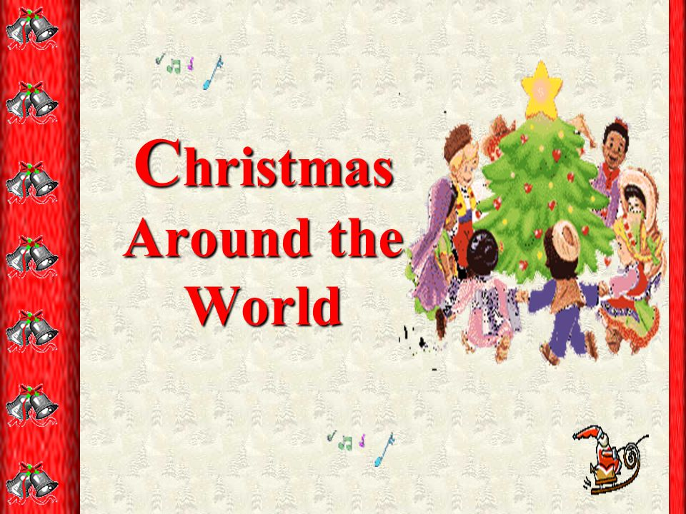 1 c hristmas around the world - Christmas Around The World Theme Decorations