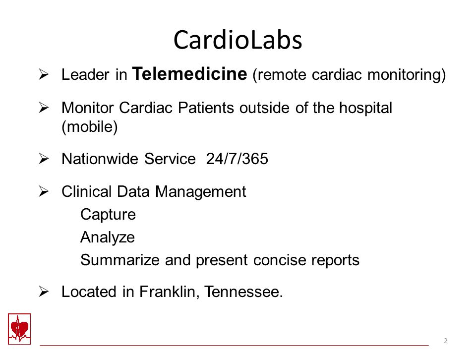 Telemedicine Remote Cardiac Monitoring Industry Overview