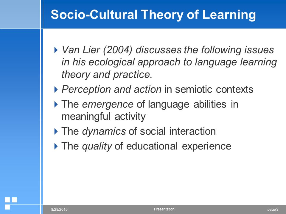 the ecology and semiotics of language learning lier leo van