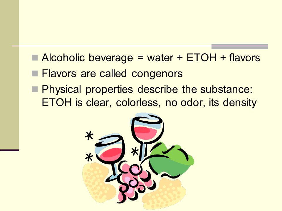 etoh density