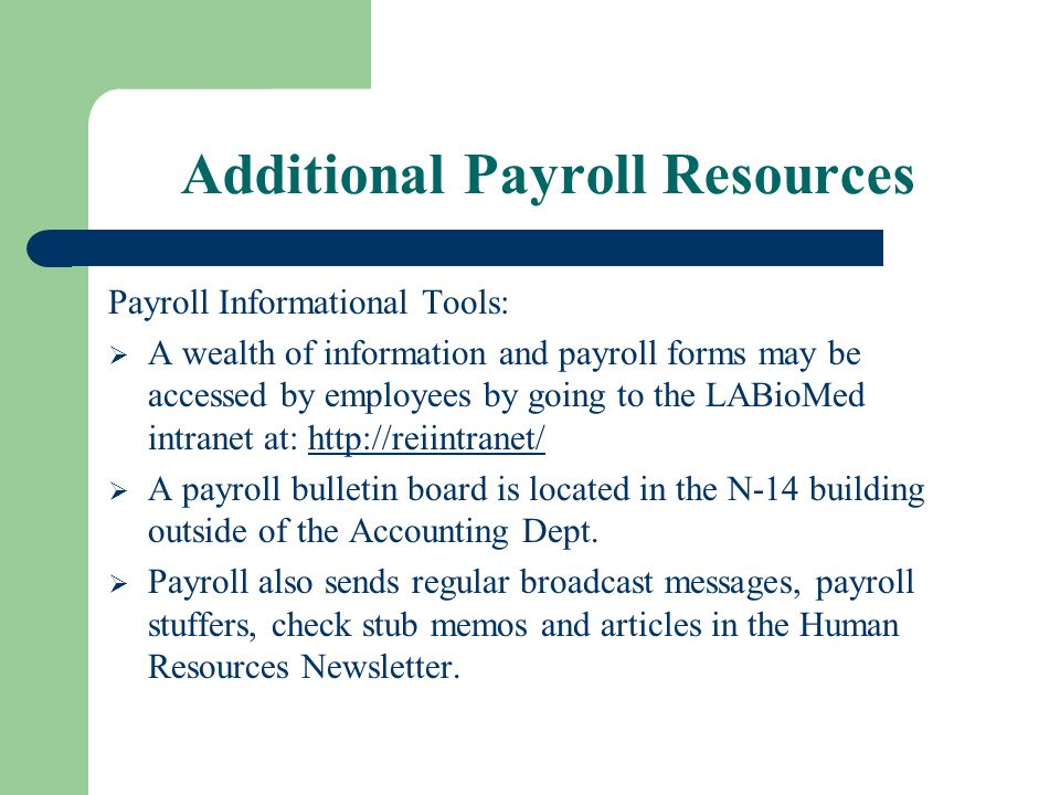 payroll department an extension of the accounting dept the staff