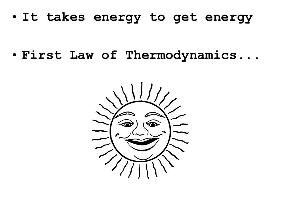 First Law of Thermodynamics...