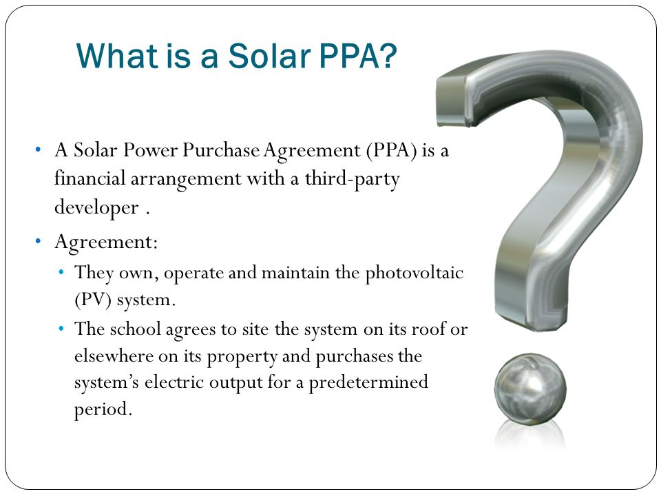 Power Purchase Agreements | Madeira S Path Through Energy Conservation And A Power Purchase