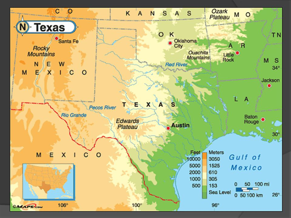 Geography Texas History Ppt Download