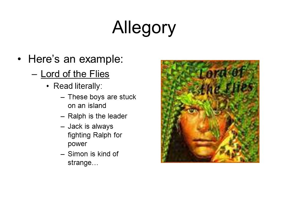 lord of the flies allegory
