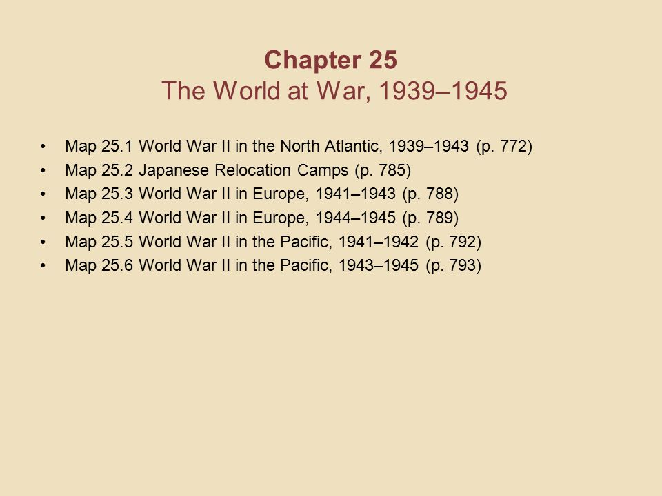 Americas history sixth edition chapter 25 the world at war 1939 chapter 25 the world at war 19391945 map 251 world war ii in gumiabroncs Images