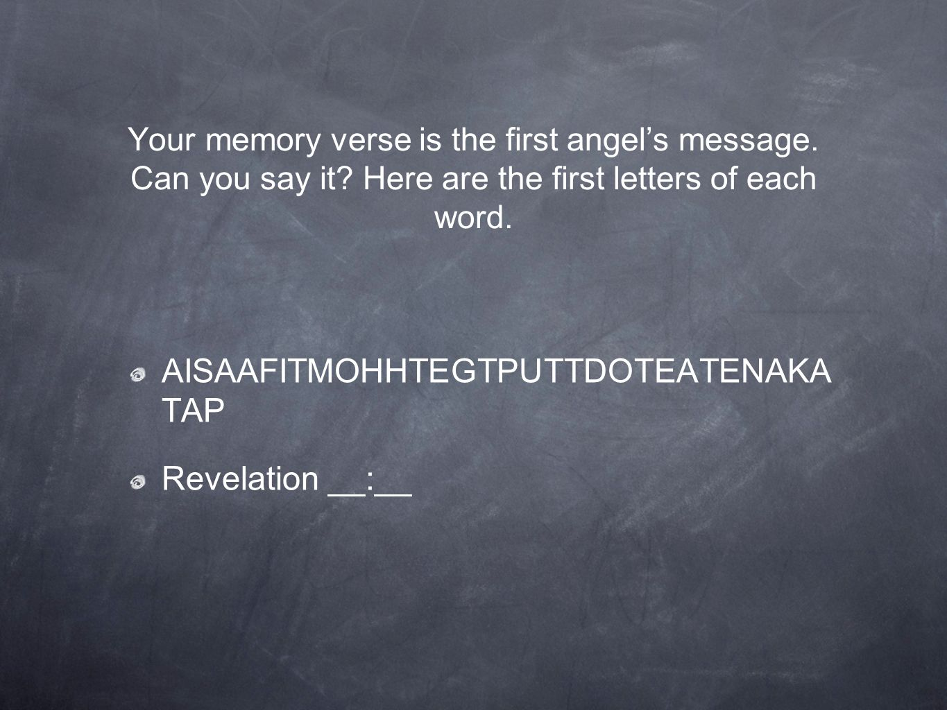Announcing Jesus Coming Quiz Lesson 38 Your Memory Verse Is The