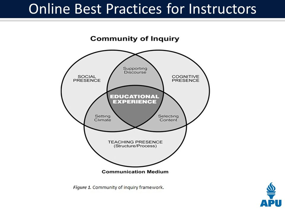 Online Best Practices for Instructors