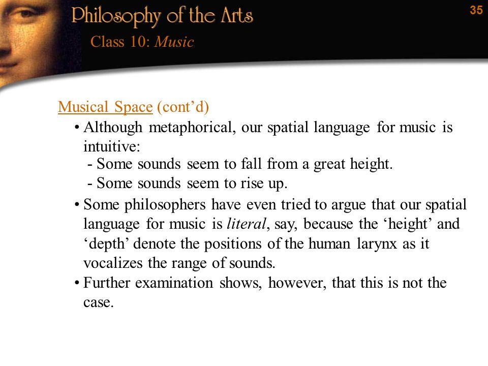 "1 Class 10: Music  2 Jerrold Levinson: ""What a Musical Work"