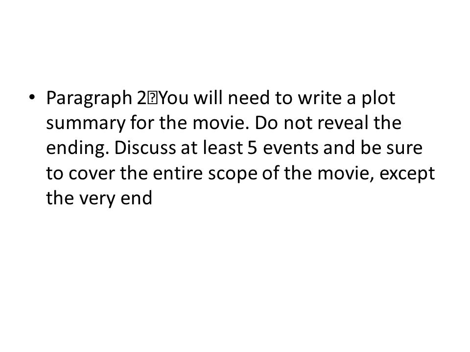 how to write a film critique