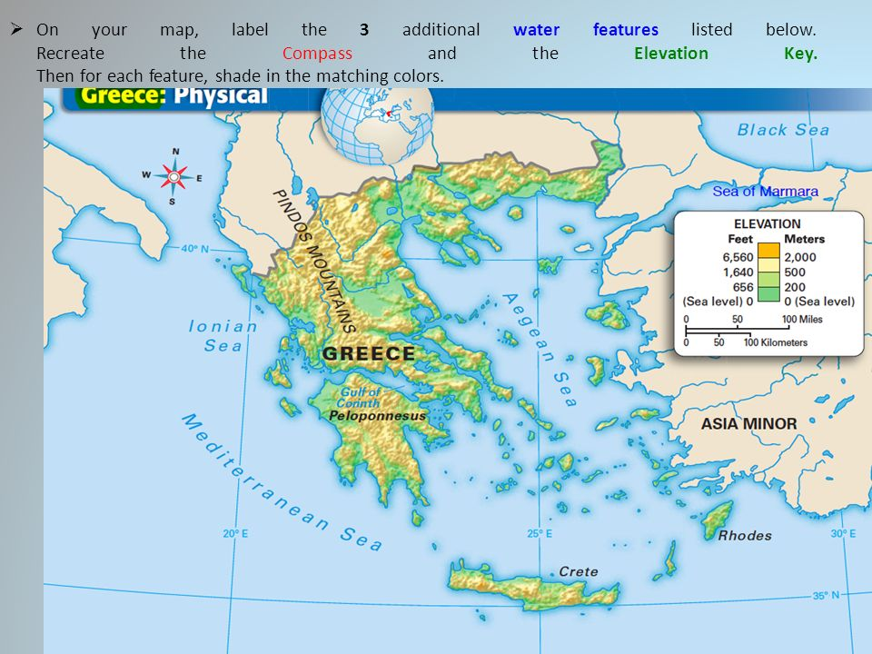 Physical Maps Of Ancient Greece Gallery Website With Physical Maps ...