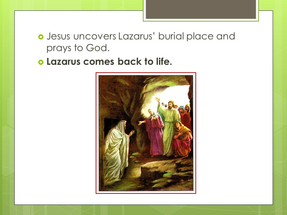 The Story of Lazarus Micaela Smith, AnnaSue Larsen Mrs  Bear